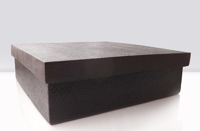 caja de víbora de resina