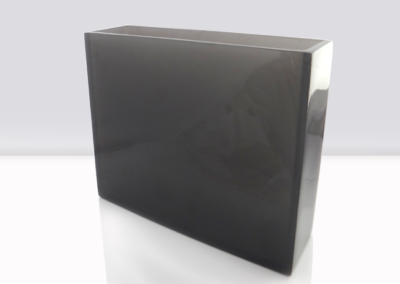 Florero rectangular